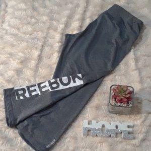 Reebok Grey Workout Capris